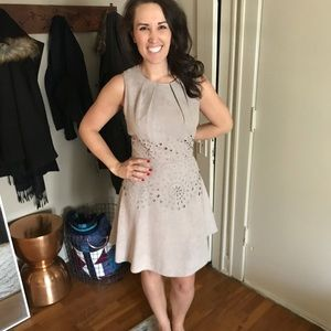 Jessica Simpson gray dress